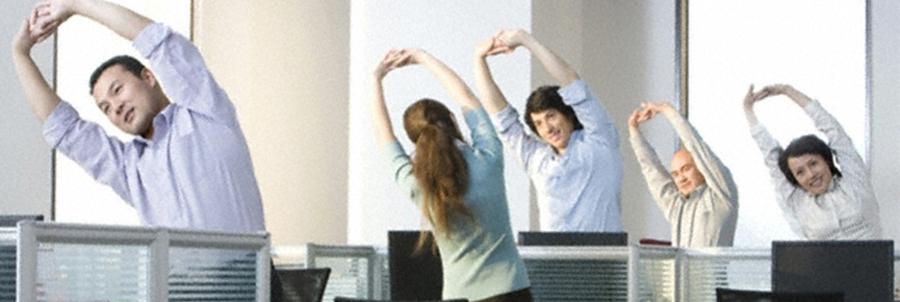 A képernyős munkavégzés szünetében végezhető tornagyakorlatok